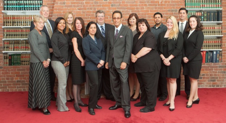 Boston personal injury lawyer team at Sheff Law
