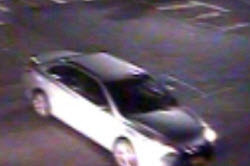 Boston police are seeking this four-door silver sedan in connection with a hit and run bicycle accident