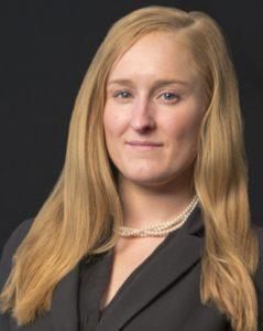 Portrait of Boston personal injury lawyer Kelsey R. Raycroft