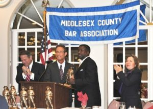 Boston personal injury lawyer Doug Sheff receives the Middlesex County Bar Association Outstanding Service Award