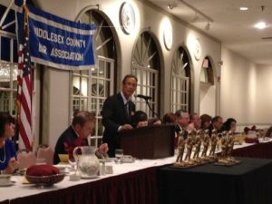 Boston personal injury attorney Doug Sheff addresses the Middlesex County Bar Association